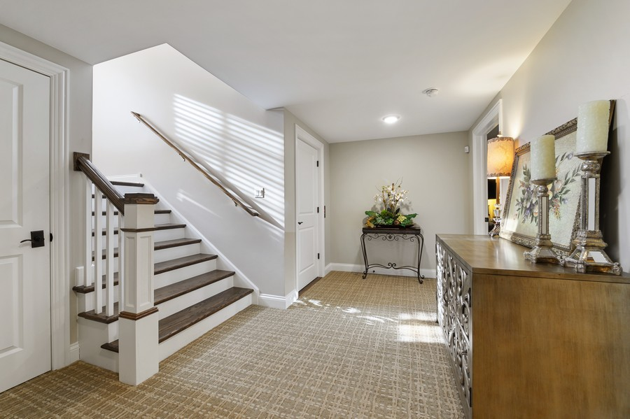 Real Estate Photography - 4425 Oakwood Ave, Downers Grove, IL, 60515 - Basement Landing and Elevator
