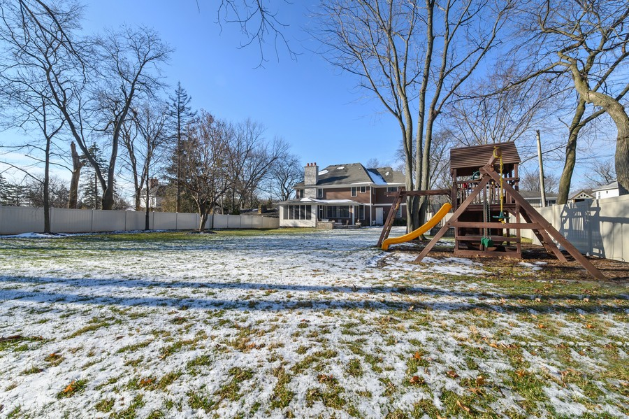 Real Estate Photography - 4425 Oakwood Ave, Downers Grove, IL, 60515 - Back Yard