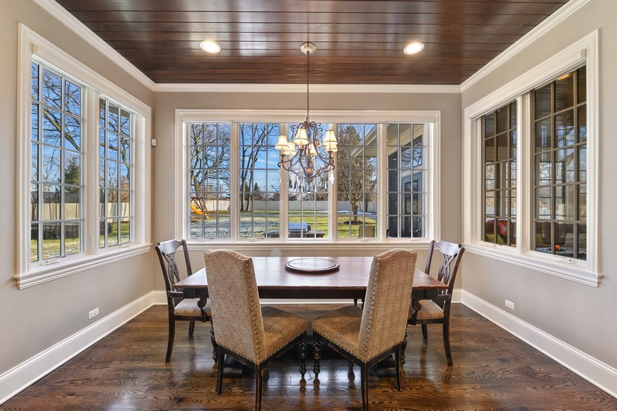 Real Estate Photography - 4425 Oakwood Ave, Downers Grove, IL, 60515 - Breakfast Area