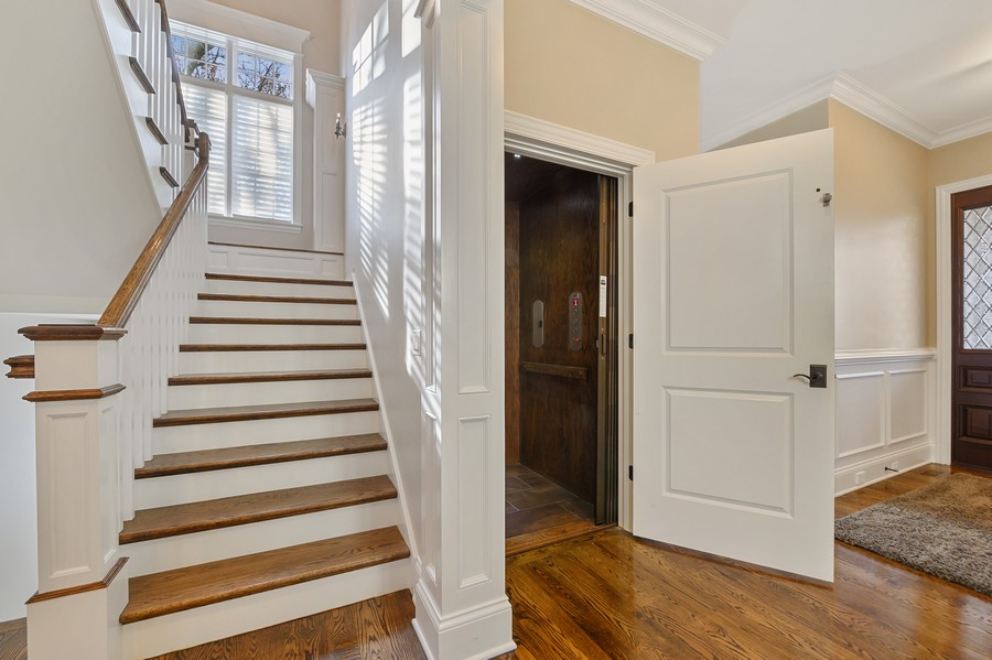 Real Estate Photography - 4425 Oakwood Ave, Downers Grove, IL, 60515 - Elevator