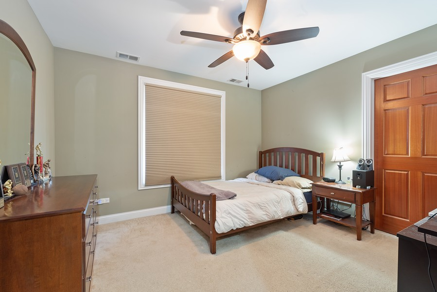 Real Estate Photography - 1406 E Lake Ave, Glenview, IL, 60025 - Bedroom