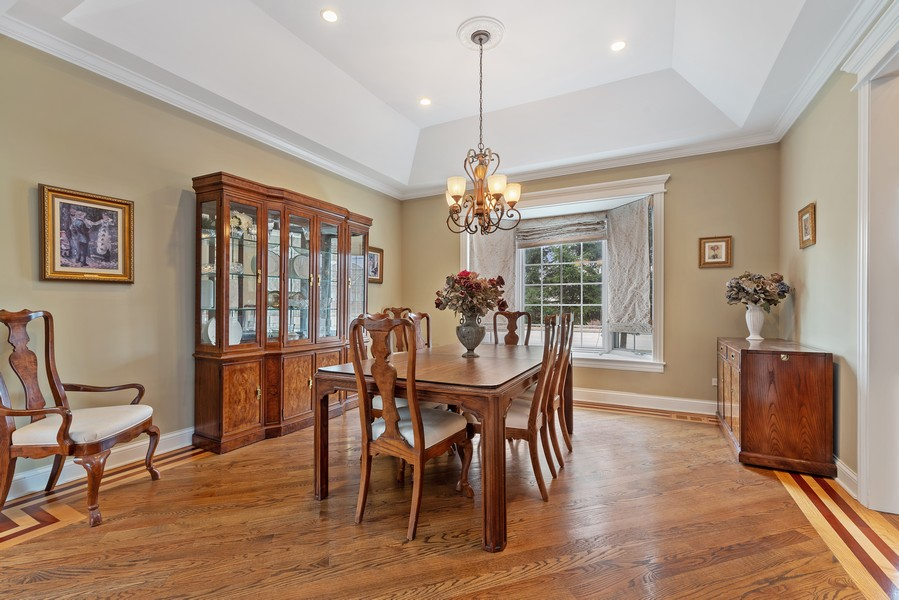 Real Estate Photography - 1406 E Lake Ave, Glenview, IL, 60025 - Dining Room