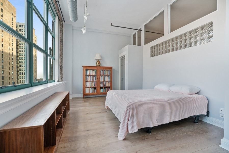 Real Estate Photography - 1020 S Wabash, Chicago, IL, 60605 - 2nd Bedroom
