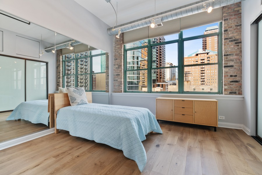 Real Estate Photography - 1020 S Wabash, Chicago, IL, 60605 - 3rd Bedroom