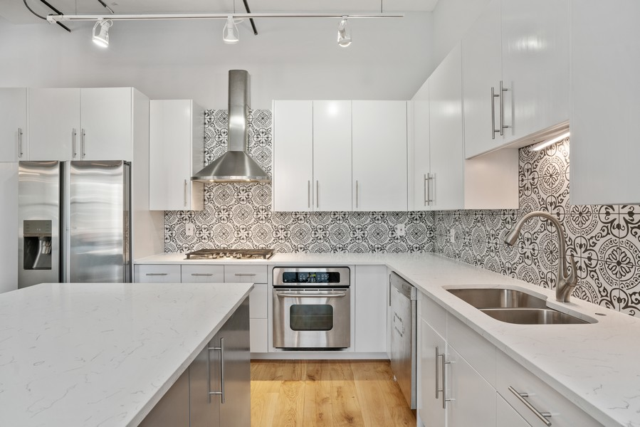 Real Estate Photography - 1020 S Wabash, Chicago, IL, 60605 - Kitchen