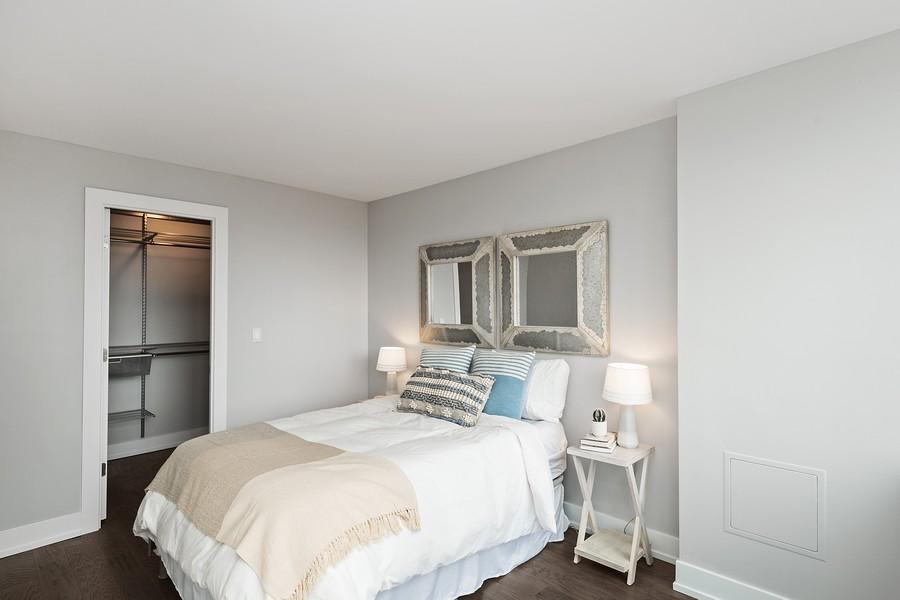 Real Estate Photography - 1560 N Sandburg Terr #709, Chicago, IL, 60610 - Bedroom