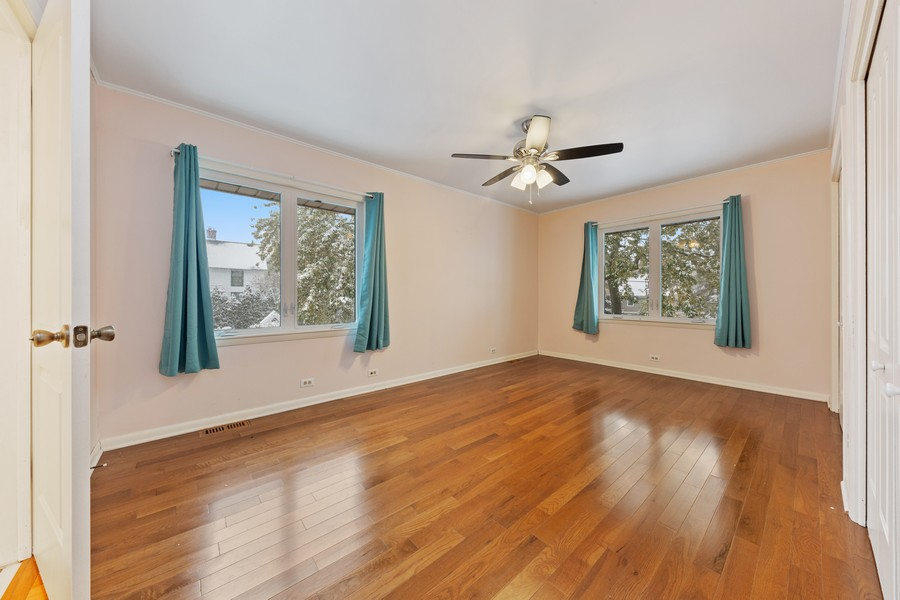 Real Estate Photography - 447 S. York St, Elmhurst, IL, 60126 - 2nd Bedroom