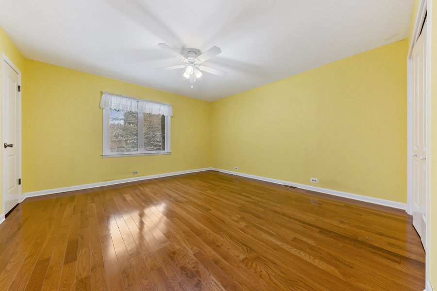 Real Estate Photography - 447 S. York St, Elmhurst, IL, 60126 - 3rd Bedroom