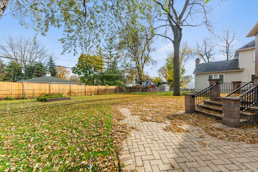 Real Estate Photography - 447 S. York St, Elmhurst, IL, 60126 - Back Yard