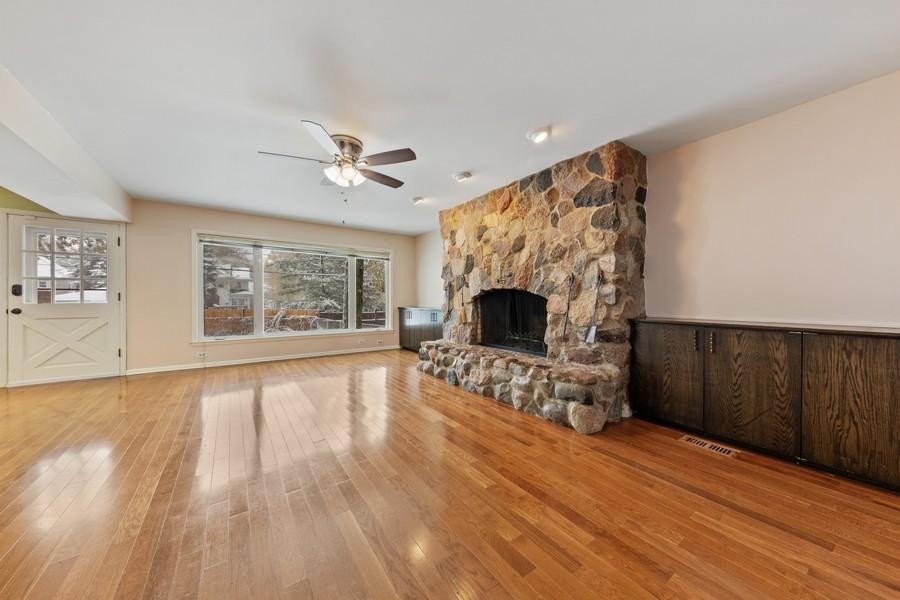 Real Estate Photography - 447 S. York St, Elmhurst, IL, 60126 - Family Room