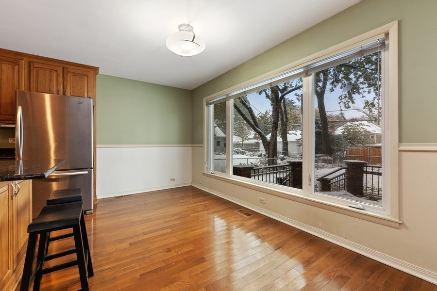 Real Estate Photography - 447 S. York St, Elmhurst, IL, 60126 - Breakfast Area