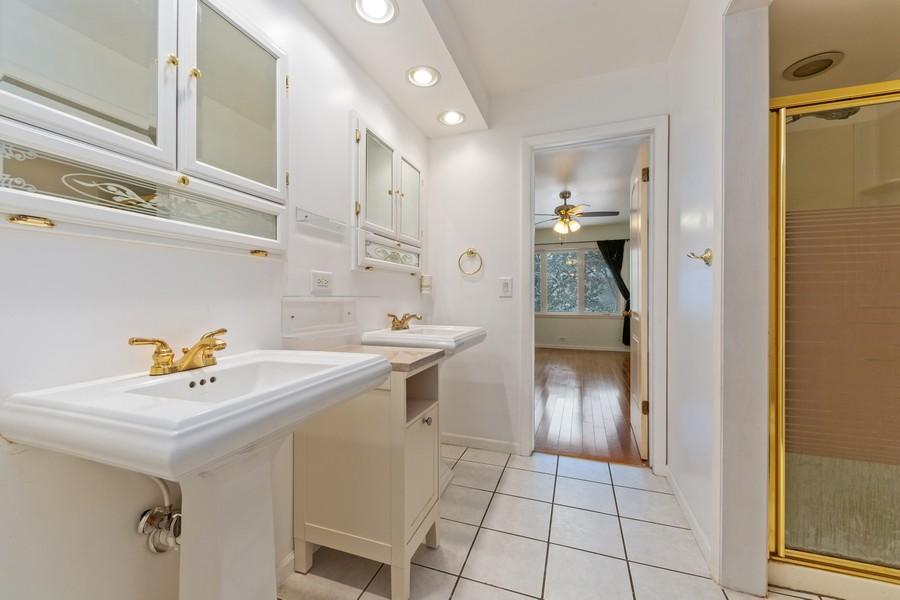 Real Estate Photography - 447 S. York St, Elmhurst, IL, 60126 - Bathroom