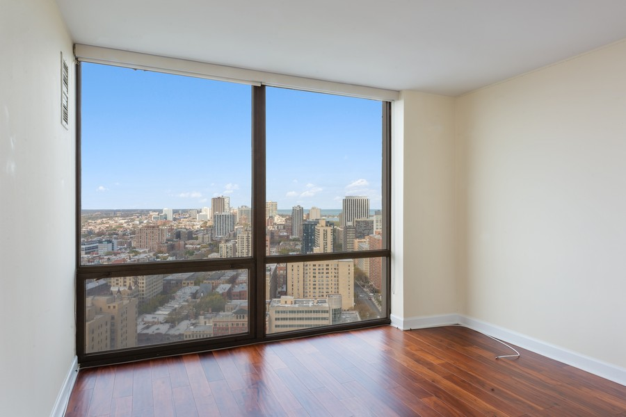 Real Estate Photography - 2650 N Lakeview Ave., Apt 3105, Chicago, IL, 60614 - Bedroom