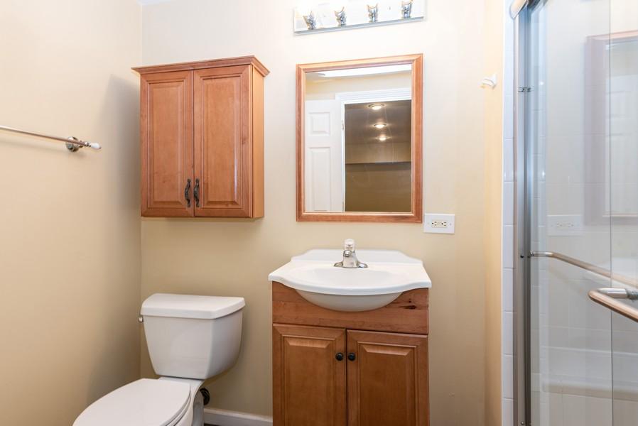 Real Estate Photography - 2100 Brandywyn Ln, Buffalo Grove, IL, 60089 - 3rd Bathroom