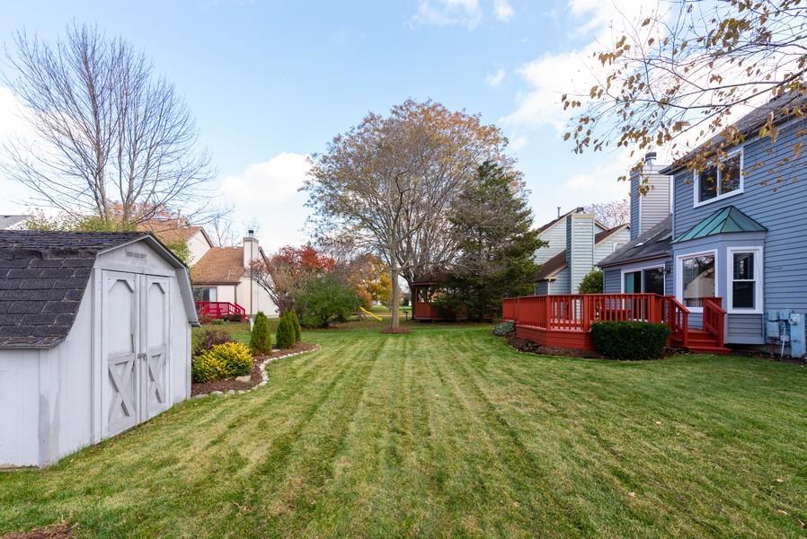 Real Estate Photography - 2100 Brandywyn Ln, Buffalo Grove, IL, 60089 - Side View