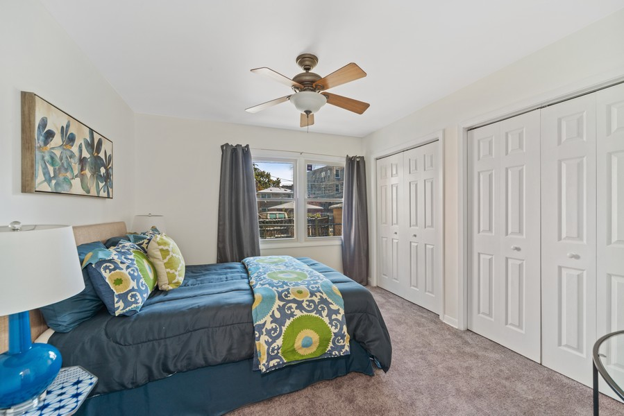 Real Estate Photography - 1725 W. Touhy, #1, chicago, IL, 60626 - Master Bedroom