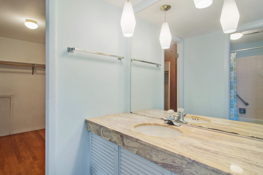 Real Estate Photography - 2174 Adams St, Rolling Meadows, IL, 60008 - Master Bathroom