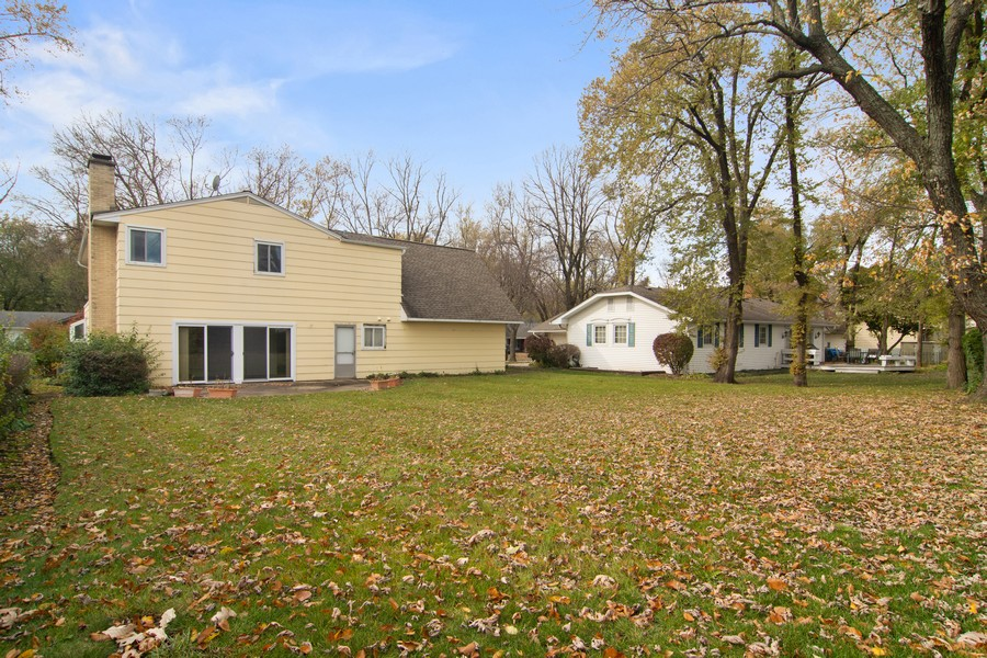 Real Estate Photography - 2174 Adams St, Rolling Meadows, IL, 60008 - Rear View