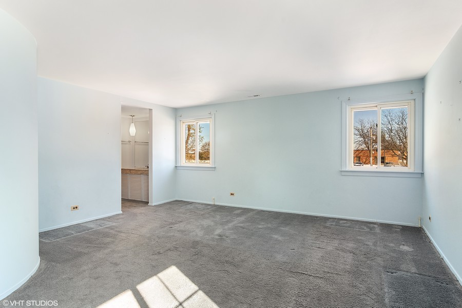 Real Estate Photography - 2174 Adams St, Rolling Meadows, IL, 60008 - Master Bedroom