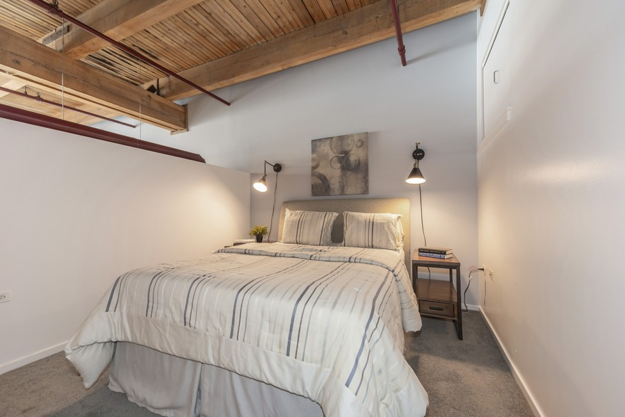 Real Estate Photography - 1632 S. Indiana Avenue, #505, Chicago, IL, 60616 - Bedroom