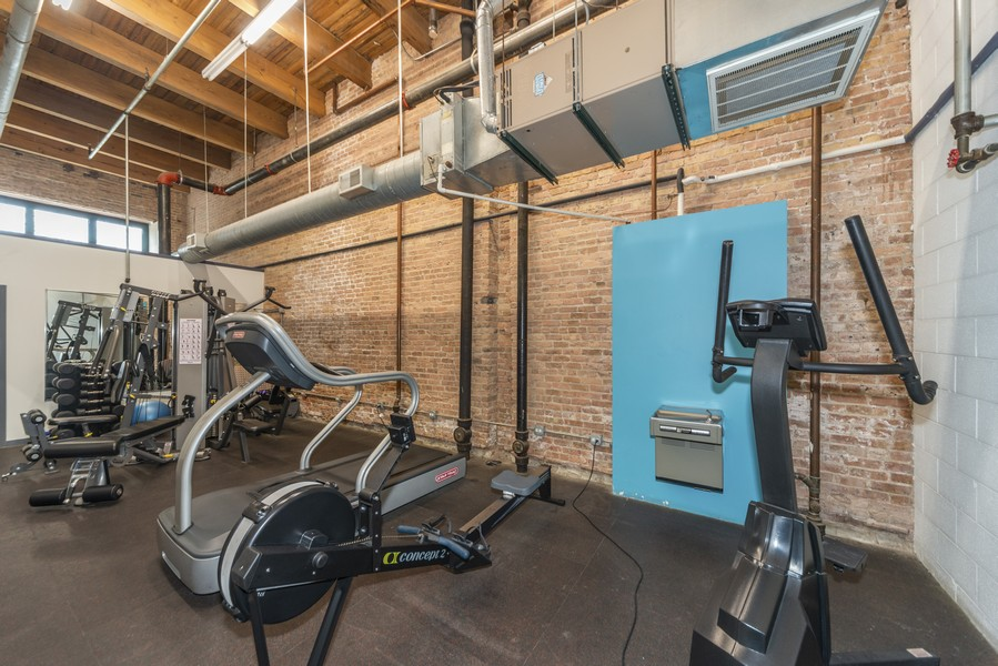 Real Estate Photography - 1632 S. Indiana Avenue, #505, Chicago, IL, 60616 - Exercise Room