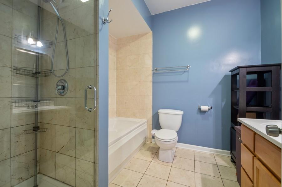 Real Estate Photography - 3100 W Leland, #201, Chicago, IL, 60625 - Master Bathroom