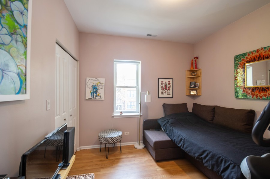 Real Estate Photography - 3100 W Leland, #201, Chicago, IL, 60625 - 3rd Bedroom