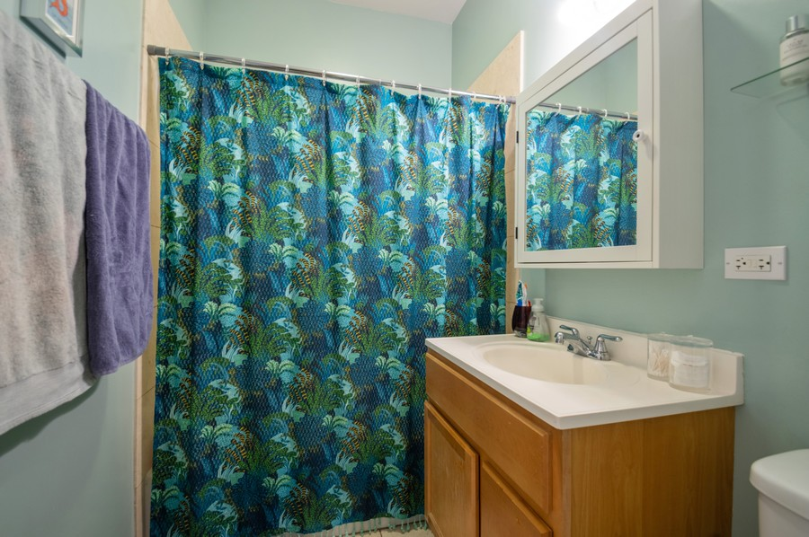 Real Estate Photography - 3100 W Leland, #201, Chicago, IL, 60625 - 2nd Bathroom