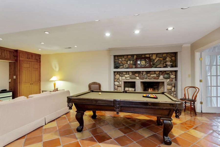 Real Estate Photography - 4409 Winding Lane, Stevensville, MI, 49127 - Lower Level Family Room