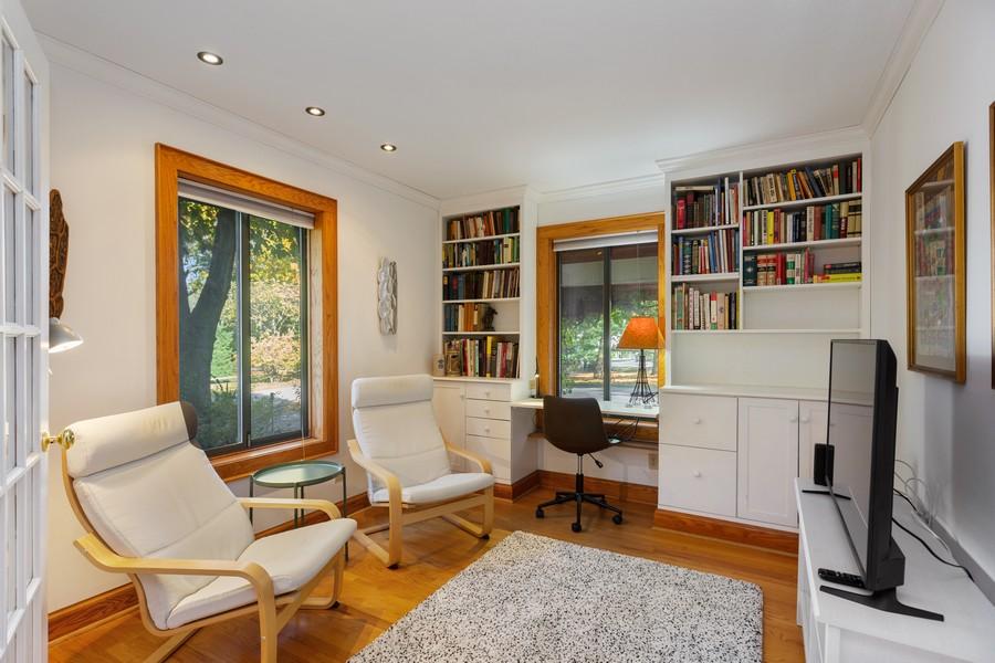 Real Estate Photography - 4409 Winding Lane, Stevensville, MI, 49127 - Den / Study