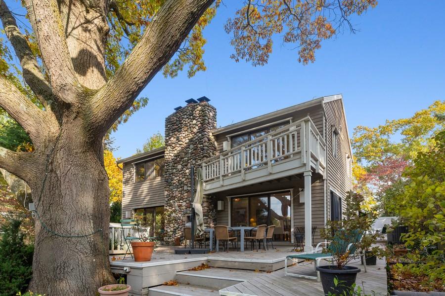 Real Estate Photography - 4409 Winding Lane, Stevensville, MI, 49127 - Rear View