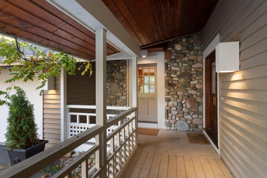 Real Estate Photography - 4409 Winding Lane, Stevensville, MI, 49127 - Porch