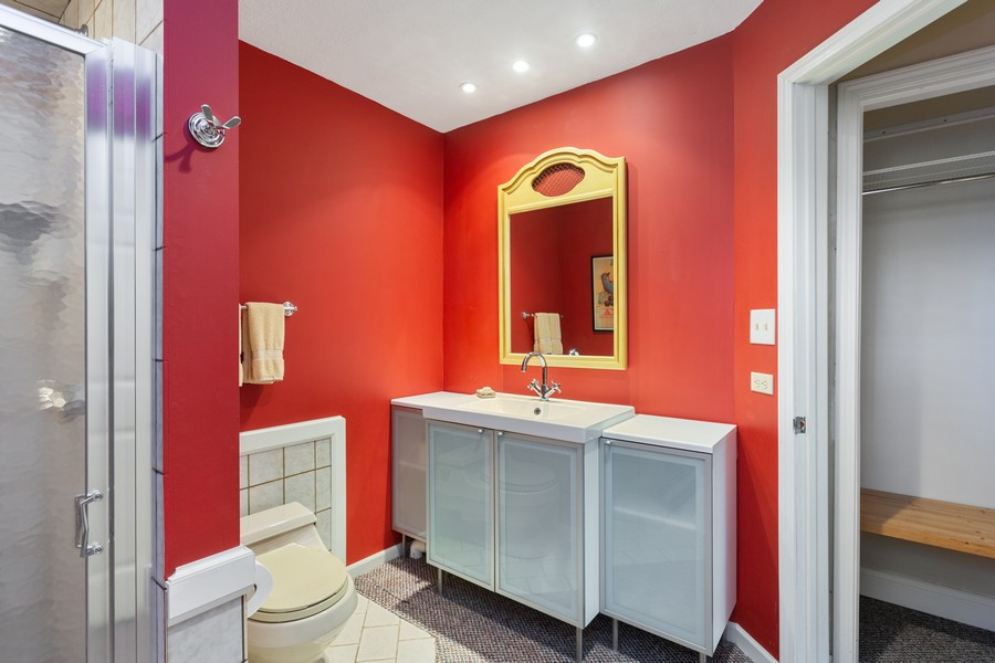 Real Estate Photography - 4409 Winding Lane, Stevensville, MI, 49127 - Bathroom