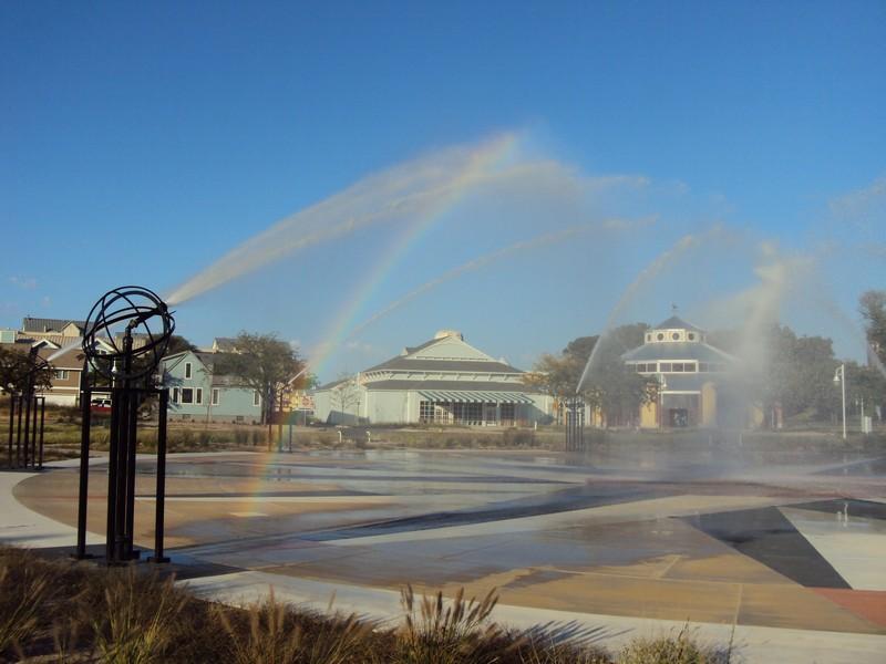 Real Estate Photography - 4409 Winding Lane, Stevensville, MI, 49127 - Whirlpool Interactive Fountain