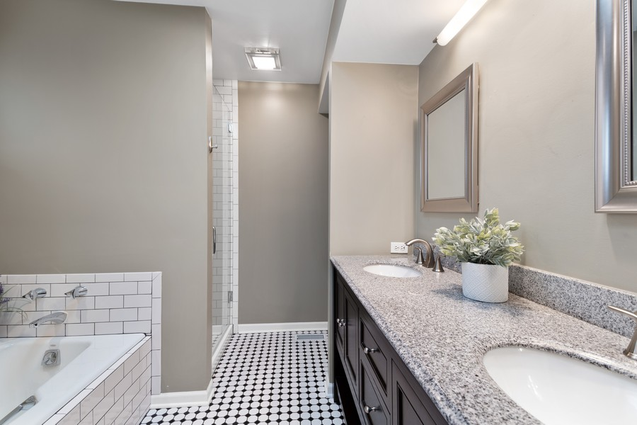 Real Estate Photography - 1842 N Halsted Street, Unit 1, Chicago, IL, 60614 - Master Bathroom