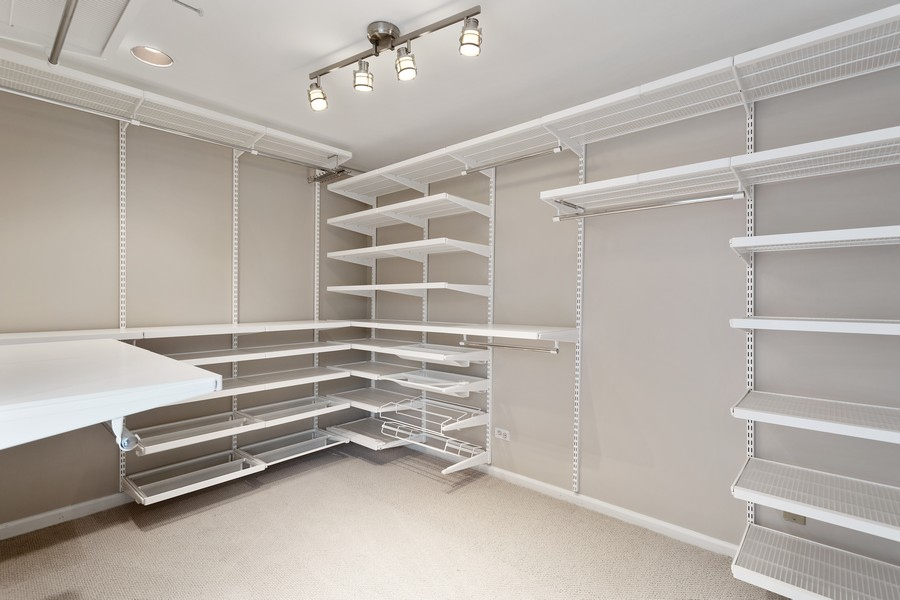 Real Estate Photography - 1842 N Halsted Street, Unit 1, Chicago, IL, 60614 - 3rd Floor - Walk-in Closet /Den