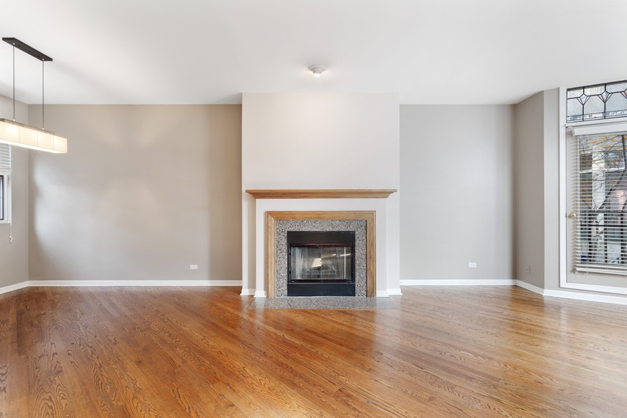 Real Estate Photography - 1842 N Halsted Street, Unit 1, Chicago, IL, 60614 - Living Room / Dining Room