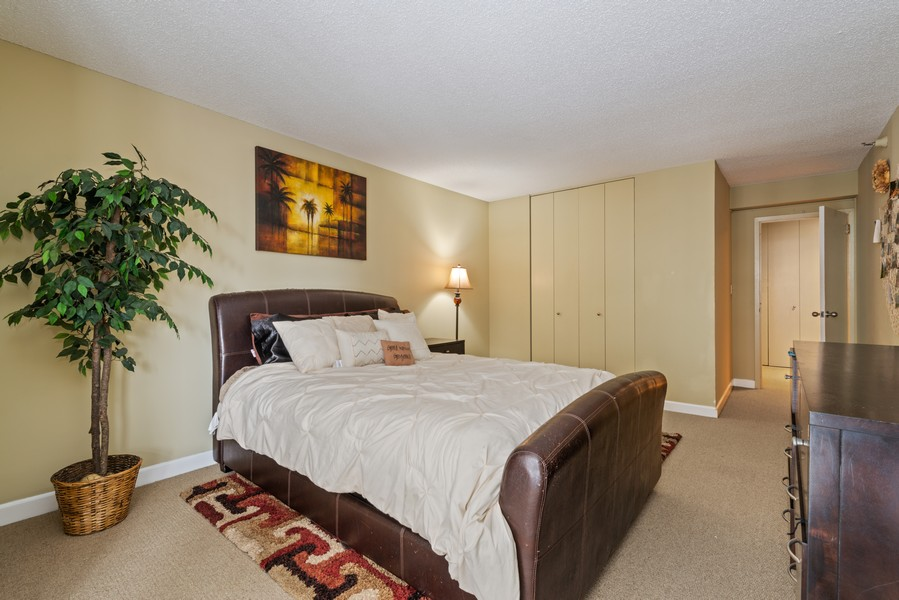 Real Estate Photography - 10 E Ontario, #1009, Chicago, IL, 60611 - Bedroom