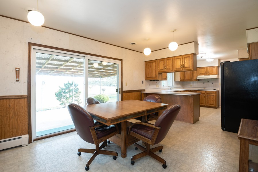 Real Estate Photography - 3167 Eaman Road, Benton Harbor, MI, 49022 - Kitchen / Dining Room