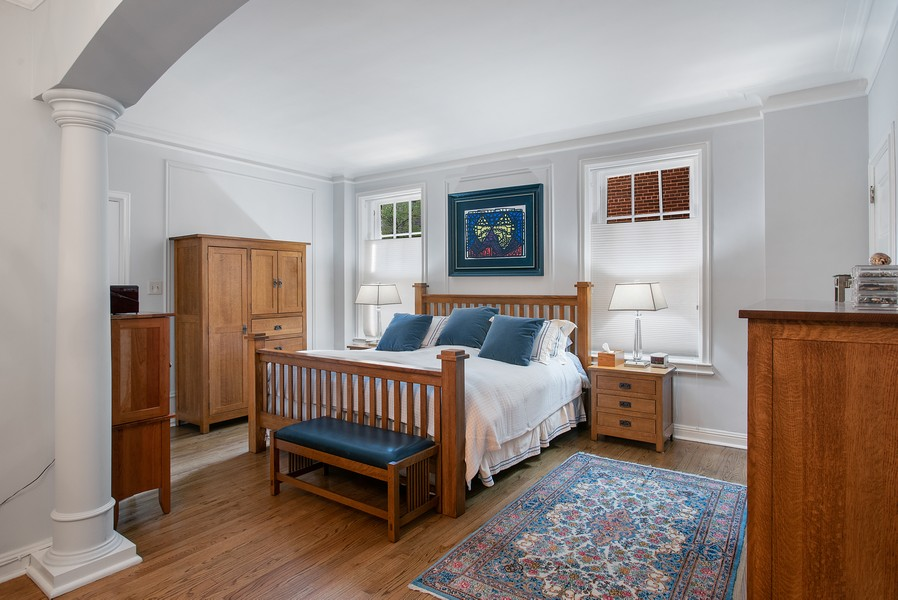 Real Estate Photography - 237 E. Delaware, Apt.2A, Chicago, IL, 60611 - Master Bedroom