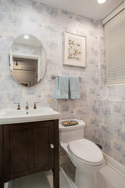 Real Estate Photography - 237 E. Delaware, Apt.2A, Chicago, IL, 60611 - 2nd Bathroom