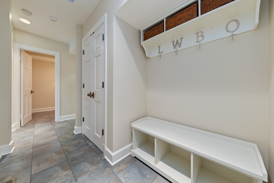 Real Estate Photography - 454 S Banbury Rd, Arlington Heights, IL, 60005 - Mudroom