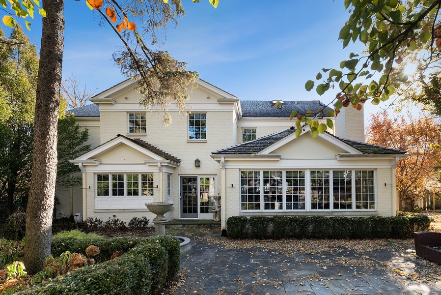 Real Estate Photography - 454 S Banbury Rd, Arlington Heights, IL, 60005 - Rear View