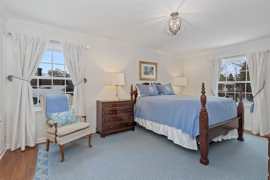 Real Estate Photography - 310 Green Bay Road, Lake Bluff, IL, 60044 - Master Bedroom