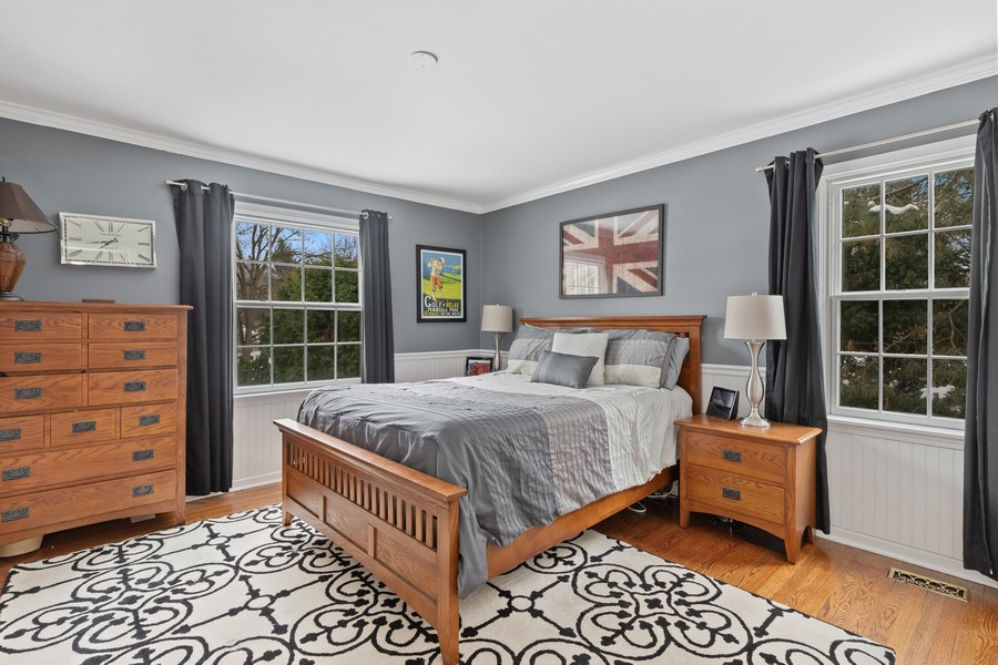 Real Estate Photography - 310 Green Bay Road, Lake Bluff, IL, 60044 - Bedroom 3