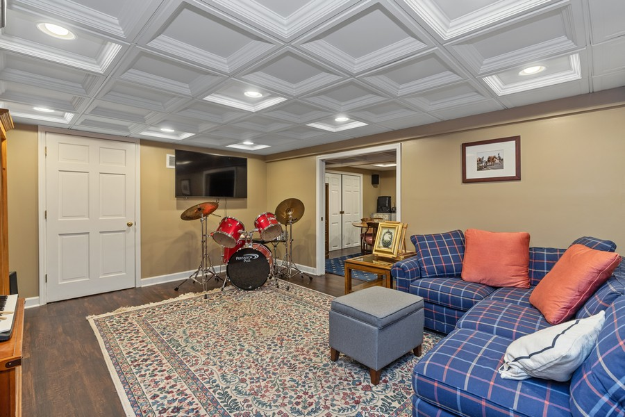 Real Estate Photography - 310 Green Bay Road, Lake Bluff, IL, 60044 - Recreation Room