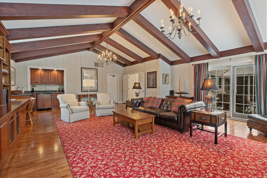 Real Estate Photography - 310 Green Bay Road, Lake Bluff, IL, 60044 - Family Room