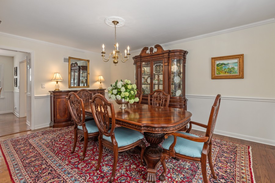 Real Estate Photography - 310 Green Bay Road, Lake Bluff, IL, 60044 - Dining Room