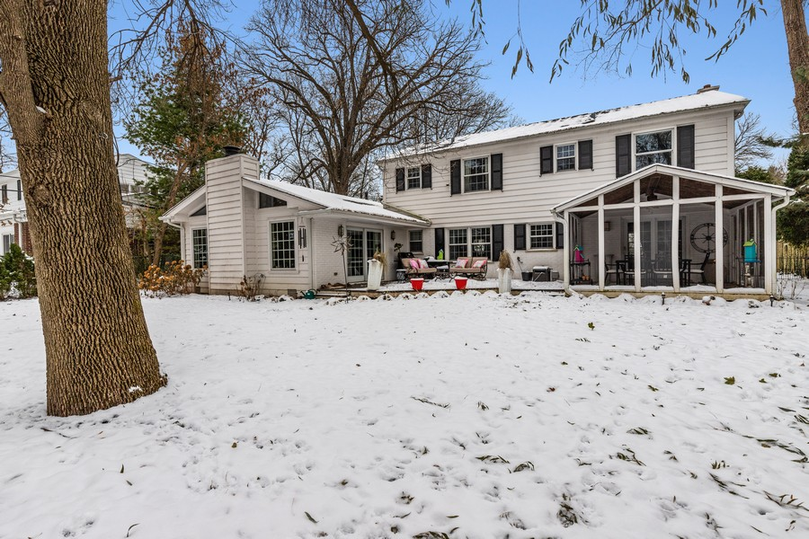 Real Estate Photography - 310 Green Bay Road, Lake Bluff, IL, 60044 - Rear View