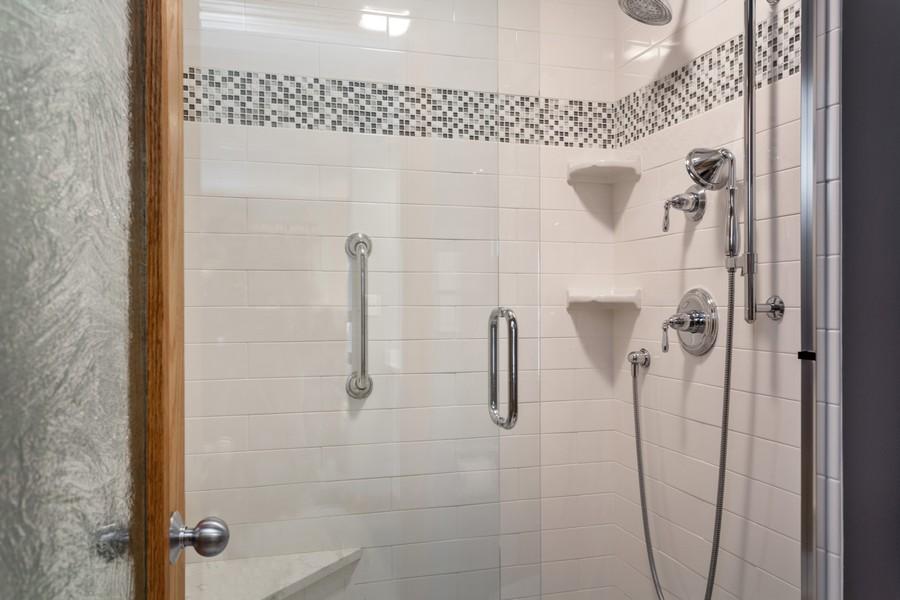 Real Estate Photography - 501 N Whittaker St, Unit 22, New Buffalo, MI, 49117 - Master Bathroom